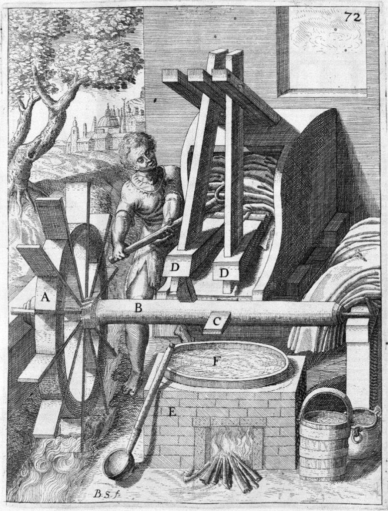 kladivová valcha 17. st.